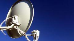 How to set satellite dish
