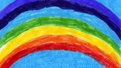 Как нарисовать радугу