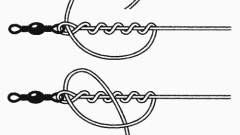 How to tie the leashes to the main fishing line