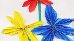 Как сделать объемные цветы