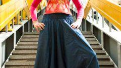 Как сшить штаны-алладины