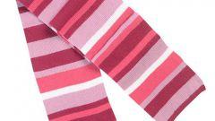 Как связать шарф детский