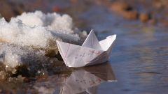 Как сделать корабль оригами