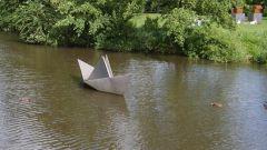 Как сделать кораблик из листа бумаги
