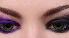 Как растушевывать карандаш для глаз