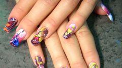 Как расписывать ногти