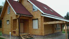 Как построить брусовой дом