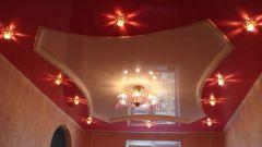 Как расположить лампочки на потолке