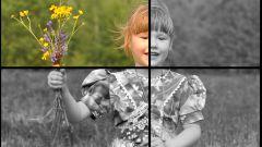 Как сделать изображение черно-белым в фотошопе