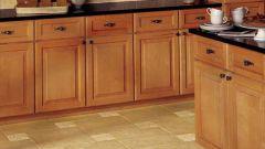 Как сделать пол в кухне