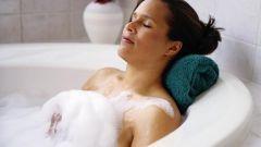 How to make foam in the bathtub