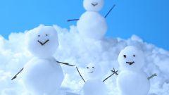 Как строить из снега фигуры
