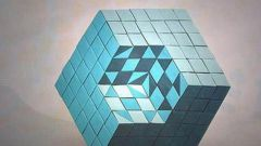 Как склеить кубик