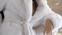 Как почистить белую норковую шубу