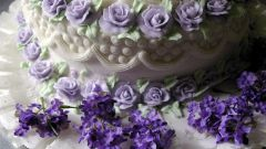 How to make roses for cake
