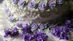 Как сделать розочки для торта