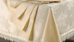 How to wash the tablecloth