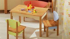 Как сделать самому детский столик