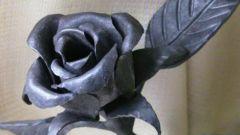Как сделать розу из металла