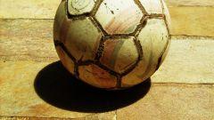 Как сделать футбольный мяч
