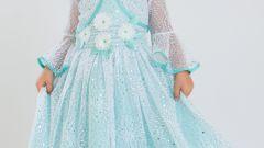 Как сшить нарядное платье для девочки
