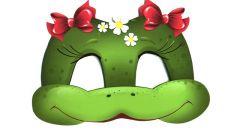 Как сделать маску лягушки