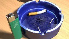 Как сделать пепельницу