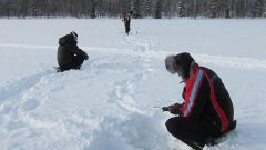 Как ловить сига зимой