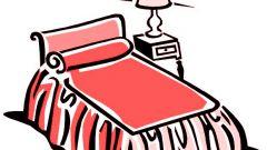 Как заправить кровать