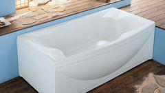 Как установить акриловую ванную