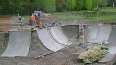 Как сделать самому свой скейт парк