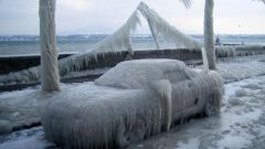 Как завести иномарку в мороз
