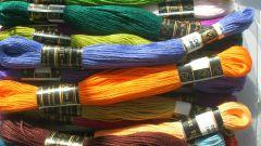 Как вышивать мулине