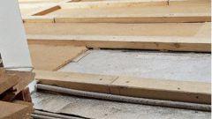 Как утеплять пол в деревянном доме