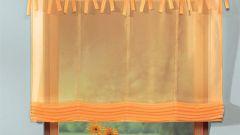 Как сшить шторы на петлях