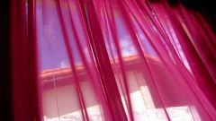 Как сшить шторы из органзы