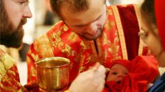 How to give communion to a baby