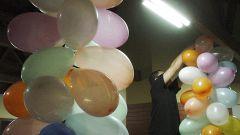 Как украсить зал к юбилею