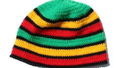 Как связать растаманскую шапку