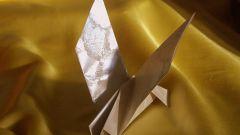 Как сделать бумажного голубя
