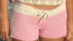 How to crochet shorts