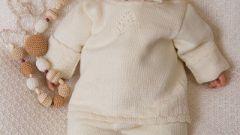 Как связать кофточку новорожденному