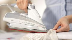 Как убрать подпалины от утюга на одежде