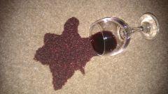 Как отмыть вино