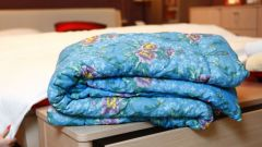 How to sew a quilt padding