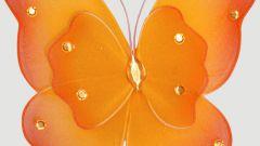 Как сделать бабочку на шторы