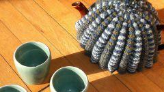 Как связать грелку на чайник