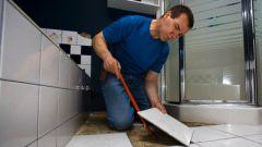 Как сбивать плитку