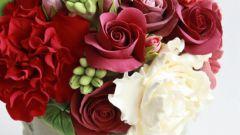 Как сделать из глины цветок