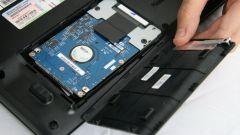Как установить жесткий диск в ноутбук